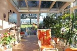 Projekty,  Ogród zimowy zaprojektowane przez Wähner GmbH