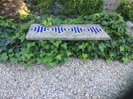 Jardines de estilo colonial por Anticuable.com