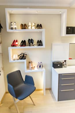 modern Dressing room تنفيذ alegroo - interior design