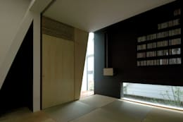 和室: M+2 Architects & Associatesが手掛けた和室です。