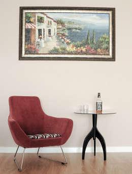 5A Desıgn – BOSPHORUS CITY, RESIDENCE: modern tarz Oturma Odası