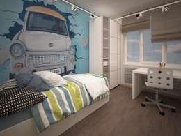 eclectic Nursery/kid's room by Alfia Ilkiv Interior Designer