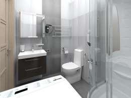 eclectic Bathroom by Alfia Ilkiv Interior Designer
