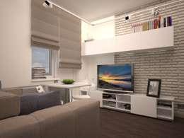 eclectic Living room by Alfia Ilkiv Interior Designer