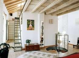 Dormitorios de estilo ecléctico por orlandini design sas