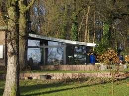Woonhuis Oosterbeek: moderne Tuin door Frank Loor Architect