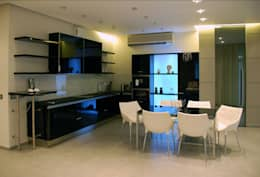 Дом в Ильино: Столовые комнаты в . Автор – Дизайн-студия «ARTof3L»