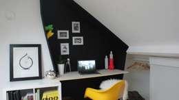 Bureau sur mesure - Saint Pierre des Corps: Bureau de style de style Moderne par Loik jacqueline