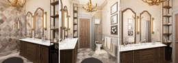 Baños de estilo  por M-project