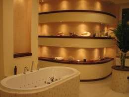 modern Bathroom by Fabryka Wnętrz