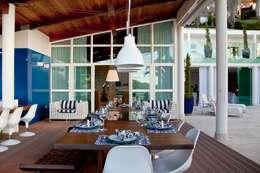 Terrazas de estilo  por Lais Albergaria Designer Associados