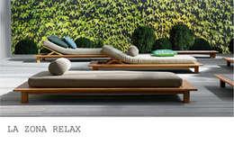 Jardines de estilo moderno por dettagli