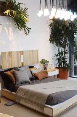 Chambre de style de style Moderne par Clorofilia