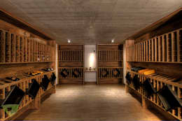 Bodegas de estilo rústico por Olaa Arquitetos