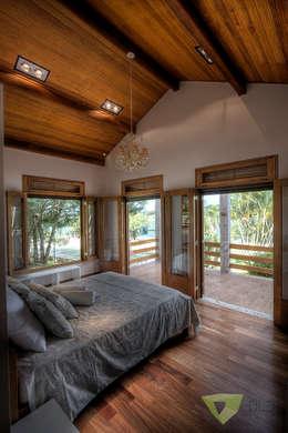 Olaa Arquitetos의  침실