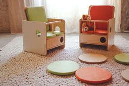 Chambre d'enfants de style  par nuun kids design