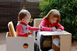 Dormitorios infantiles  de estilo  por nuun kids design