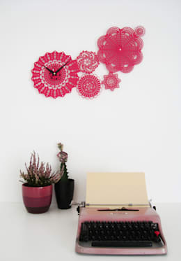 industrial Living room by deZign Studio