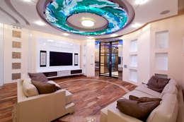 Квартира: Гостиная в . Автор – Кирилл Губаревич