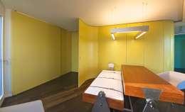 betttisch: ausgefallene Arbeitszimmer von 3rdskin architecture gmbh