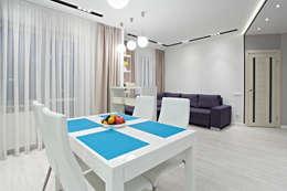Современная квартира в скандинавском стиле:  в . Автор – Shop of the interiors, design studio