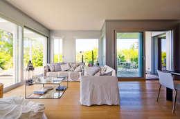 غرفة المعيشة تنفيذ studio di architettura via bava 36