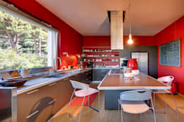 cucina: Cucina in stile in stile Moderno di studio di architettura via bava 36