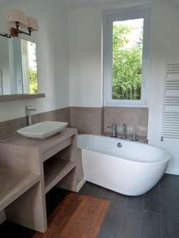 minimalistic Bathroom by karine penard