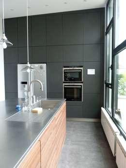 extension pour une nouvelle cuisine : Cuisine de style de style Minimaliste par karine penard