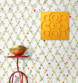 Wallpaper Ranunculus square:  Gang en hal door Snijder&CO