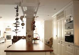 As Tasarım - Mimarlık – G.HALİLOĞLU ÇEŞME VİLLASI: rustik tarz tarz Mutfak