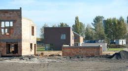 Osiedle Srebrne Stawy w Bytomiu - dom typ A: styl nowoczesne, w kategorii Domy zaprojektowany przez j.krysiak