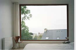 Projekty,  Sypialnia zaprojektowane przez RAUM