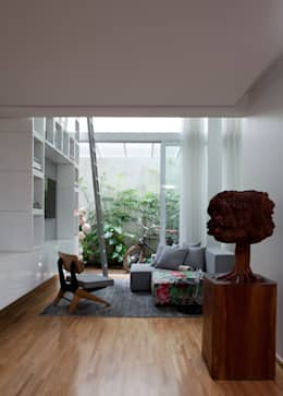 modern Living room by Consuelo Jorge Arquitetos