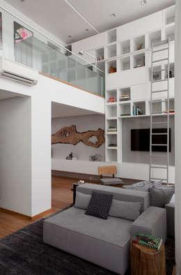 Consuelo Jorge Arquitetos의  거실