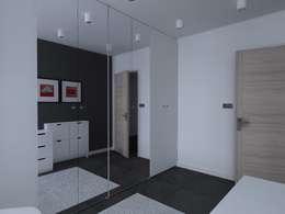 Vestidores y closets de estilo moderno por ap. studio architektoniczne Aurelia Palczewska-Dreszler
