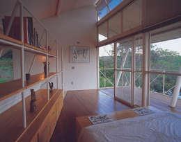 غرفة نوم تنفيذ JOAO DINIZ ARQUITETURA