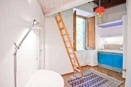 새로운 공간을 창출한다. 작은 집을 위한 메자닌 디자인