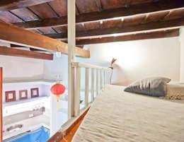 Salas de estar modernas por RCFZERO