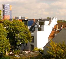 hoffassade _ süd _ baustelle 08/2010:   von beissel schmidt architekten