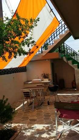 주택 리모델링: 해밀건축사사무소의  복도 & 현관