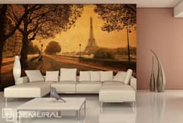 Streets of Paris: modern Living room by Demural