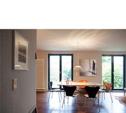 Comedores de estilo moderno de beissel schmidt architekten