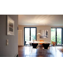 Salas de jantar modernas por beissel schmidt architekten