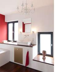 moderne Badkamer door beissel schmidt architekten