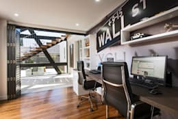 modern Study/office by Moda Interiors