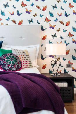 غرفة نوم تنفيذ Moda Interiors