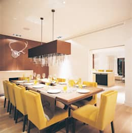 modern Dining room by KSR Architects