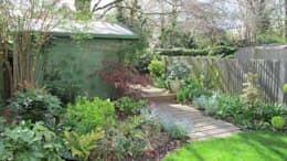 rustic Garden by Fenton Roberts Garden Design