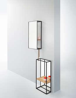 CHASSIS: minimalistische Badkamer door Deknudt Mirrors